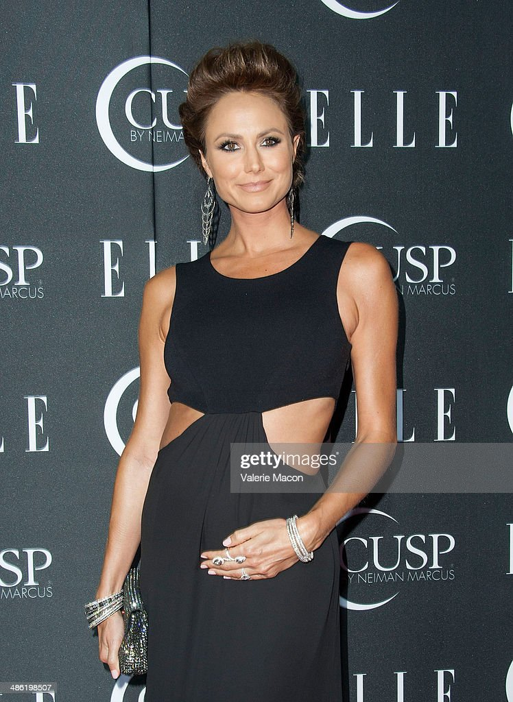 Actress <a gi-track='captionPersonalityLinkClicked' href=/galleries/search?phrase=Stacy+Keibler&family=editorial&specificpeople=3031844 ng-click='$event.stopPropagation()'>Stacy Keibler</a> arrives at ELLE's 5th Annual Women In Music Concert Celebration Presented by CUSP By Neiman Marcus at Avalon on April 22, 2014 in Hollywood, California.