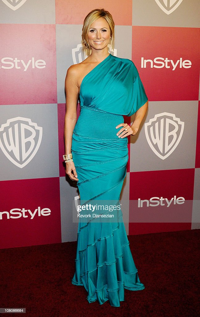 Actress <a gi-track='captionPersonalityLinkClicked' href=/galleries/search?phrase=Stacy+Keibler&family=editorial&specificpeople=3031844 ng-click='$event.stopPropagation()'>Stacy Keibler</a> arrives at the 2011 InStyle And Warner Bros. 68th Annual Golden Globe Awards post-party held at The Beverly Hilton hotel on January 16, 2011 in Beverly Hills, California.