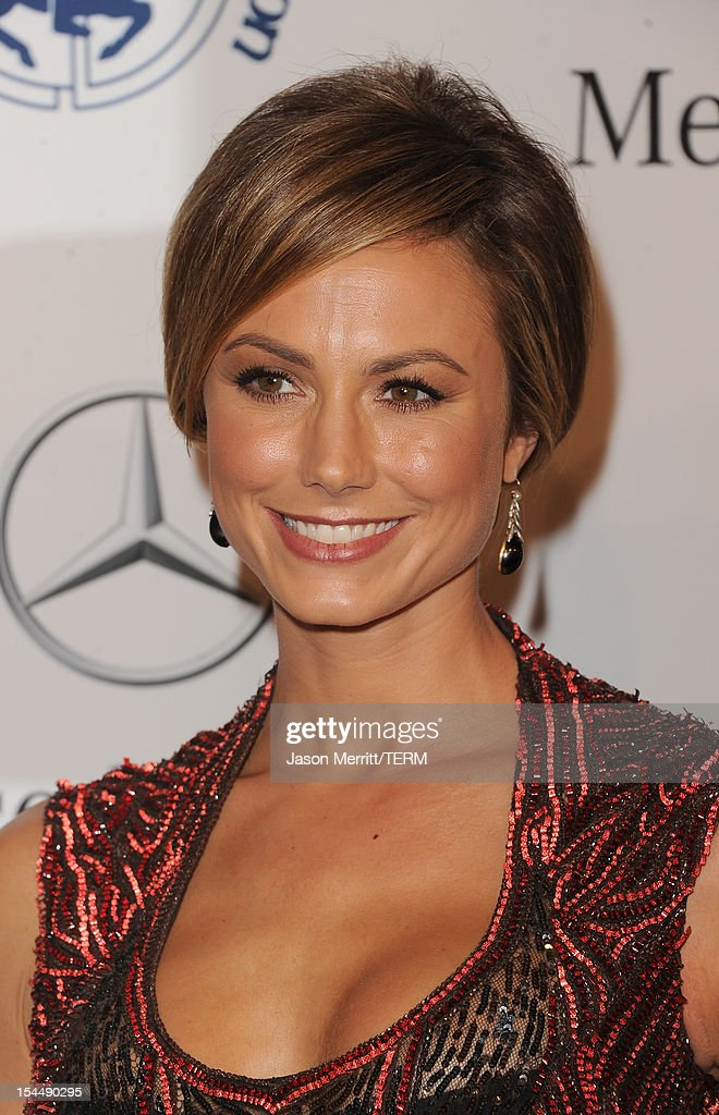 Actress Stacy Keibler arrives at the 26th Anniversary Carousel Of Hope Ball presented by Mercedes-Benz at The Beverly Hilton Hotel on October 20, 2012 in Beverly Hills, California.