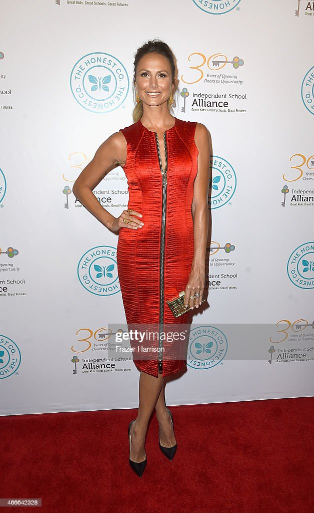 Actress Stacy Keibler arrives at the Independent School Alliance For Minority Affairs Impact Awards Dinner - Arrivals at Four Seasons Hotel Los Angeles at Beverly Hills on March 17, 2015 in Los Angeles, California.