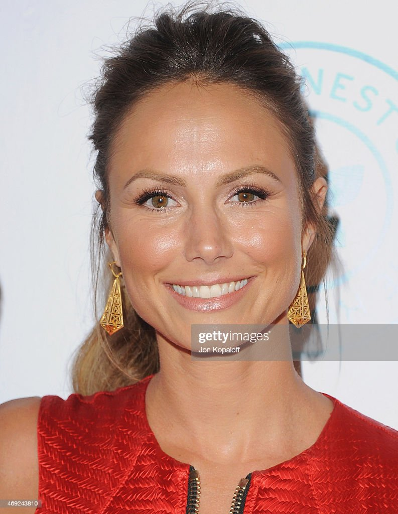 Actress Stacy Keibler arrives at The Independent School Alliance For Minority Affairs Impact Awards Dinner at Four Seasons Beverly Wilshire Hotel Los Angeles at Beverly Hills on March 17, 2015 in Los Angeles, California.