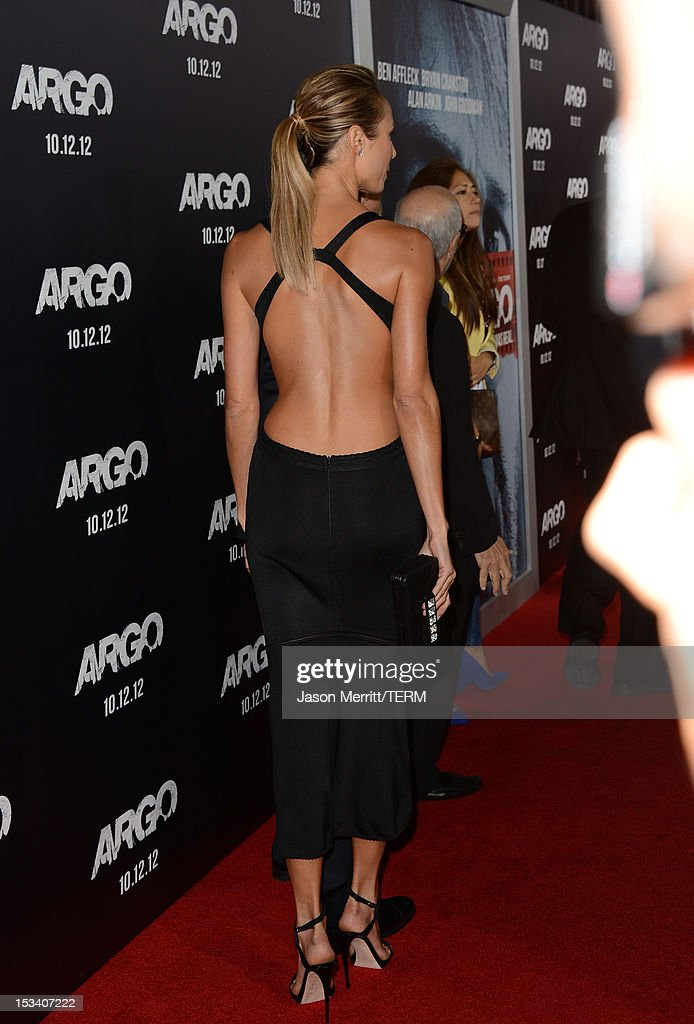 Actress Stacy Keibler arrives at the premiere of Warner Bros. Pictures' 'Argo' at AMPAS Samuel Goldwyn Theater on October 4, 2012 in Beverly Hills, California.