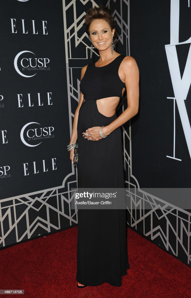 Actress <a gi-track='captionPersonalityLinkClicked' href=/galleries/search?phrase=Stacy+Keibler&family=editorial&specificpeople=3031844 ng-click='$event.stopPropagation()'>Stacy Keibler</a> attends ELLE's 5th Annual Women In Music concert celebration at Avalon on April 22, 2014 in Hollywood, California.