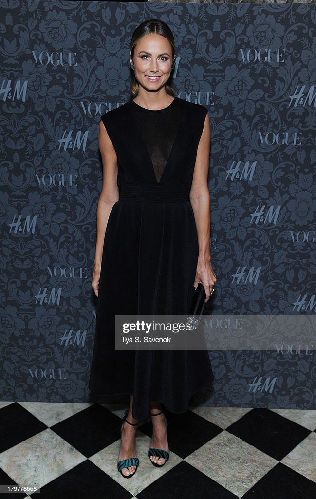 Actress Stacy Keibler attends H&M & Vogue Studios Celebrate 'Between The Shows' on September 6, 2013 in New York City.