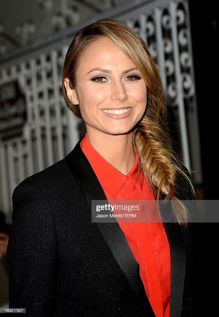 Actress Stacy Keibler attends Joe Fresh at jcp launch event on March 7, 2013 in Beverly Hills, California.