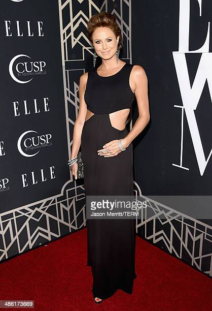Actress Stacy Keibler attends the 5th Annual ELLE Women in Music Celebration presented by CUSP by Neiman Marcus Hosted by ELLE EditorinChief Robbie...