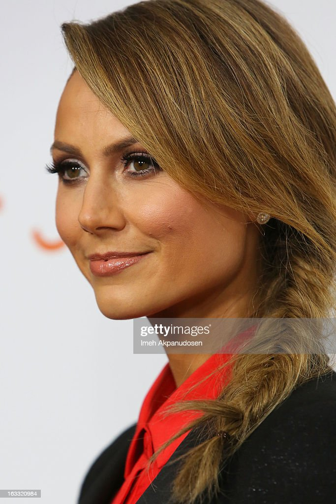 Actress Stacy Keibler attends the Joe Fresh at jcp Pop Up event on March 7, 2013 in Los Angeles, California.
