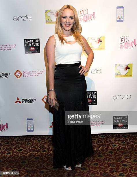 Actress Stacy Snyder arrives at Premiere Party For 'Liv Out Loud' at Akbar on September 14 2015 in Los Angeles California
