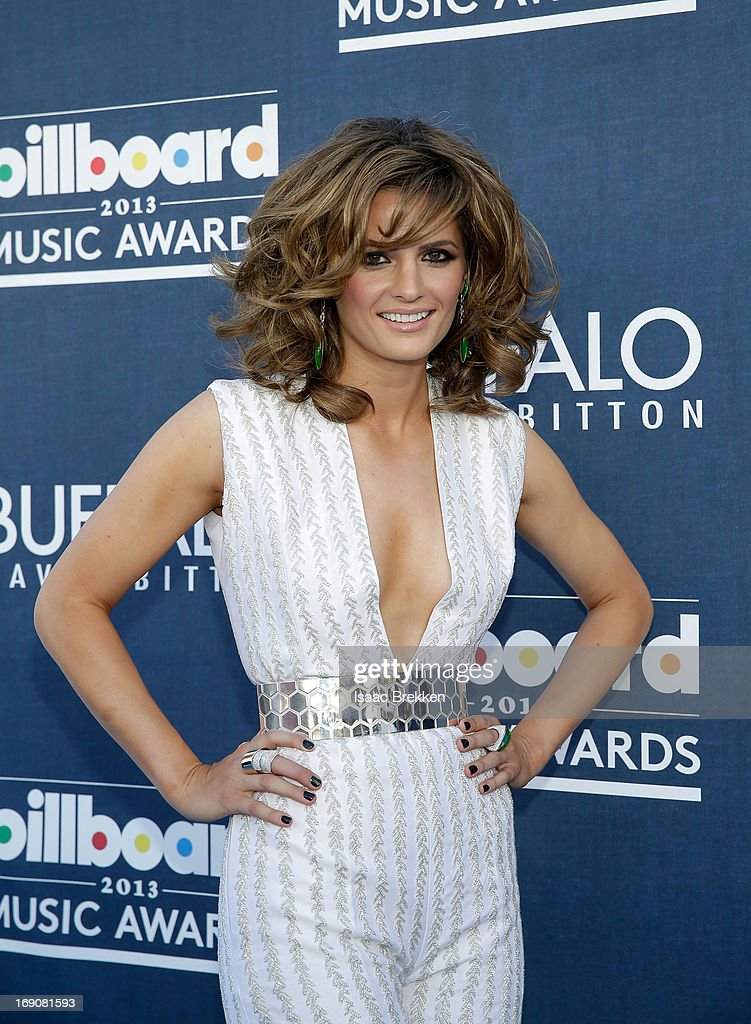 Actress Stana Katic arrives at the Buffalo David Bitton red carpet at the 2013 Billboard Music Awards at the MGM Grand Garden Arena on May 19, 2013 in Las Vegas, Nevada.