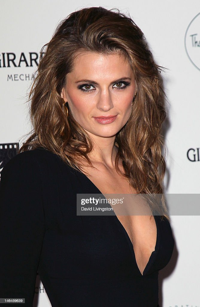 Actress Stana Katic attends an intimate cocktail celebration hosted by Brett Ratner in conjunction with the 100th anniversary celebration of The Beverly Hills Hotel at The Beverly Hills Hotel on June 16, 2012 in Beverly Hills, California.