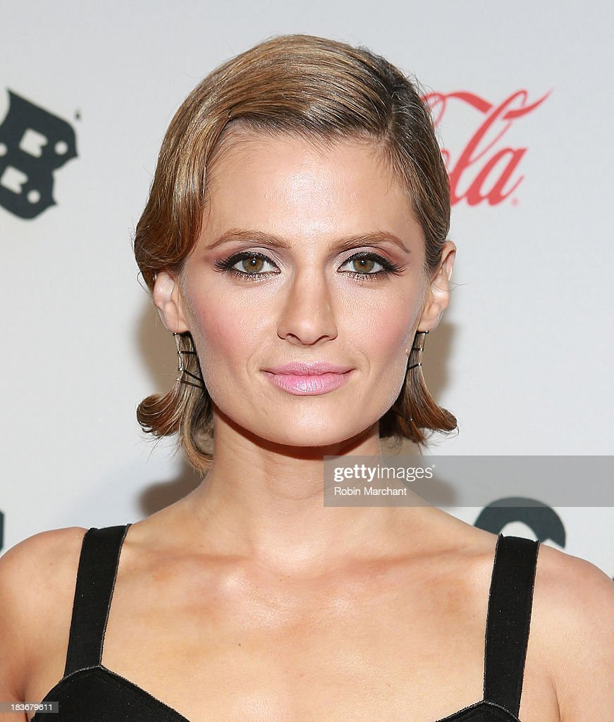Actress Stana Katic attends CBGB US Premiere Opening Night CBGB Music and Film Festival 2013 at Landmark Sunshine Cinema on October 8, 2013 in New York City.