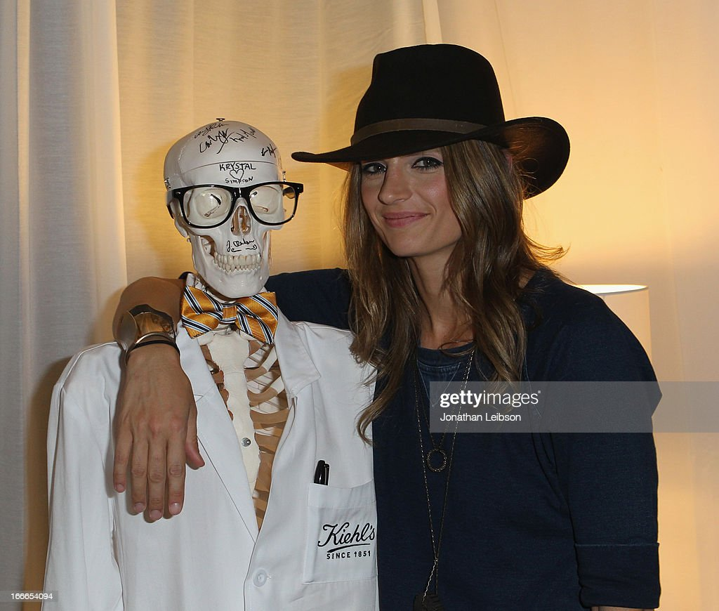 Actress <a gi-track='captionPersonalityLinkClicked' href=/galleries/search?phrase=Stana+Katic&family=editorial&specificpeople=2081035 ng-click='$event.stopPropagation()'>Stana Katic</a> attends LACOSTE L!VE 4th Annual Desert Pool Party on April 14, 2013 in Thermal, California.