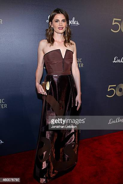Actress Stana Katic attends The Music Center's 50th Anniversary Spectacular at The Music Center on December 6 2014 in Los Angeles California