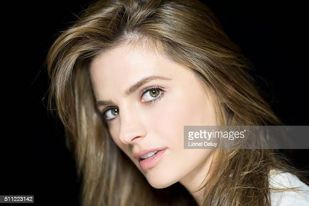 Actress Stana Katic is photographed for Self Assignment on December 13 2015 in Los Angeles California