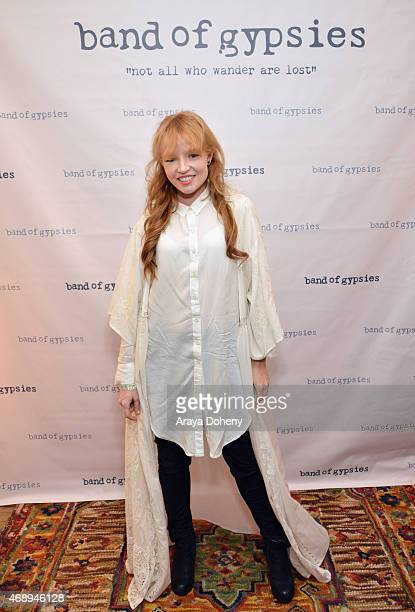 Actress Stef Dawson attends Kari Feinstein's Music Festival Style Lounge at Sunset Marquis Hotel Villas on April 8 2015 in West Hollywood California