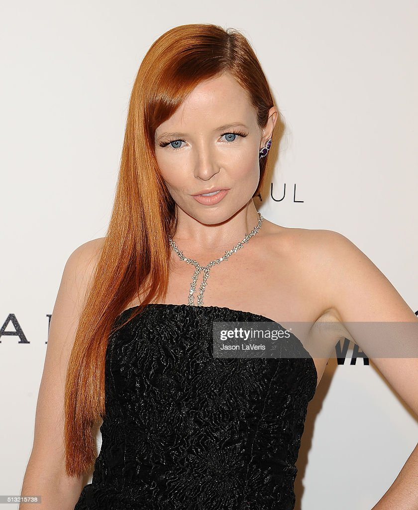 Actress Stef Dawson attends the 24th annual Elton John AIDS Foundation's Oscar viewing party on February 28 2016 in West Hollywood California