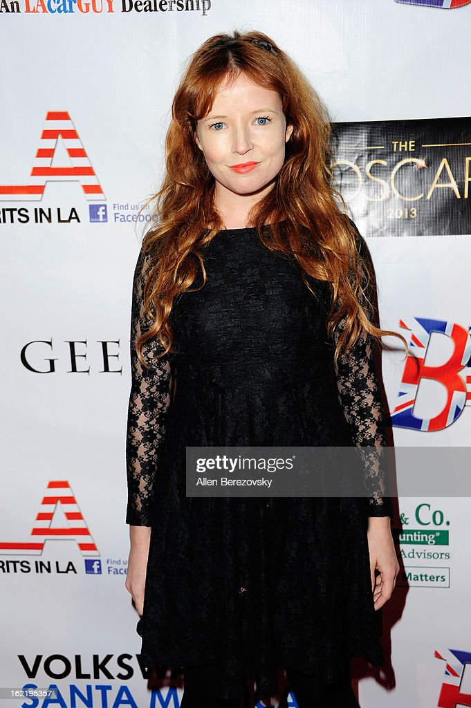 Actress Stef Dawson attends the 6th Annual Toscar Awards at the Egyptian Theatre on February 19, 2013 in Hollywood, California.