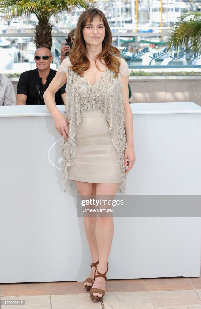 Actress Stefania Montorsi attends the 'Our Life' Photo Call held at the Palais des Festivals during the 63rd Annual International Cannes Film Festival on May 20, 2010 in Cannes, France.
