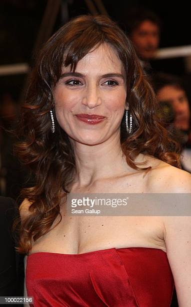 Actress Stefania Montorsi attends the 'Our Life' Premiere at the Palais des Festivals during the 63rd Annual Cannes Film Festival on May 20 2010 in...