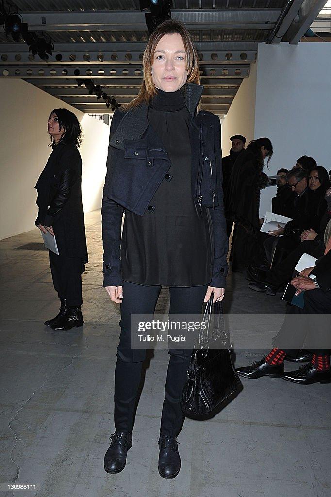 Costume National Homme - Front Row - Milan Fashion Week Menswear Autumn/Winter 2012