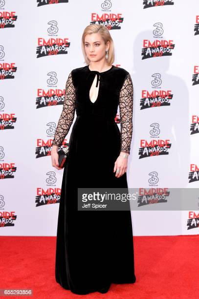 Actress Stefanie Martini attends the THREE Empire awards at The Roundhouse on March 19 2017 in London England