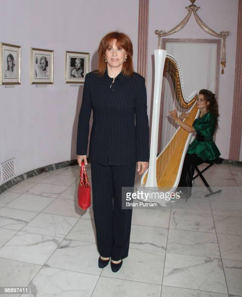 Actress Stefanie Powers attends 'The Hollywood Museum' PreMothers' Day Reception for Graffiti Gown at The Hollywood History Museum on May 6 2010 in...