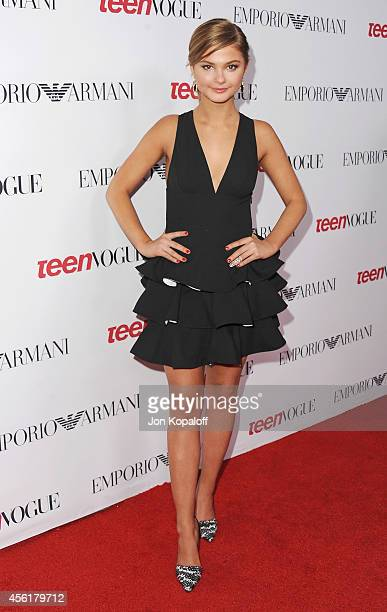 Actress Stefanie Scott arrives at the Teen Vogue Young Hollywood Party on September 26 2014 in Los Angeles California