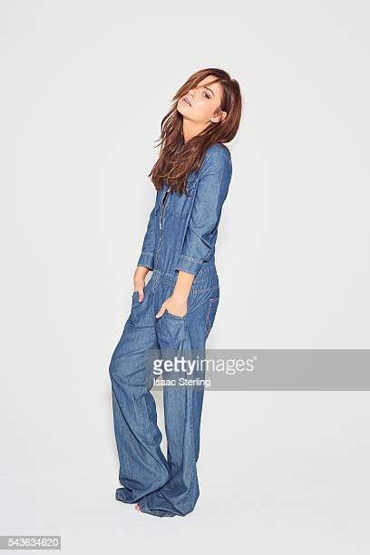 Actress Stefanie Scott is photographed for Self Assignment on October 15 2015 in Los Angeles California