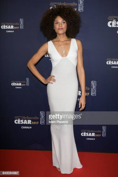Actress Stefi Celma attends the the Cesar Film Awards 2017 ceremony at Salle Pleyel on February 24 2017 in Paris France