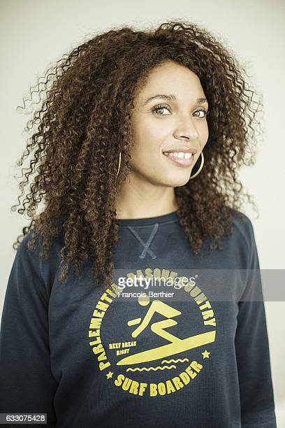 Actress Stefi Celma is photographed for Self Assignment on October7 in Paris France