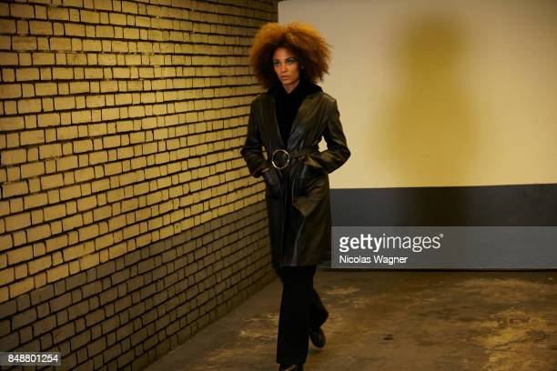 Actress Stefi Celma is photographed onApril 11 2017 in Paris France