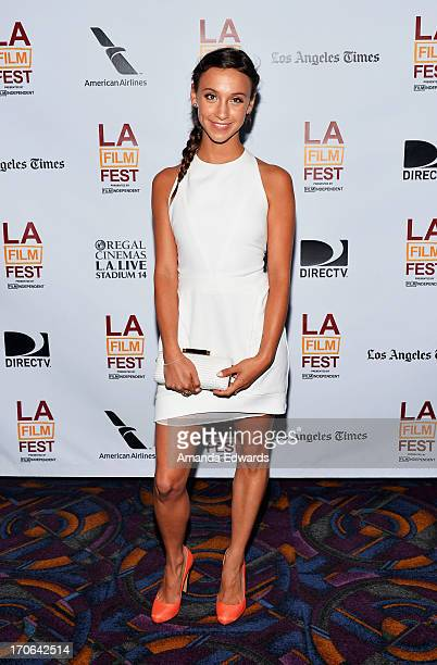 Actress Stella Maeve arrives at the 'All Together Now' premiere during the 2013 Los Angeles Film Festival at Regal Cinemas LA Live on June 15 2013 in...