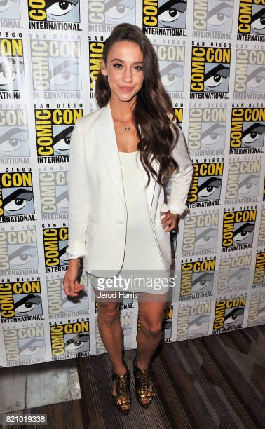Actress Stella Maeve at 'The Magicians' Press Line during ComicCon International 2017 at Hilton Bayfront on July 22 2017 in San Diego California