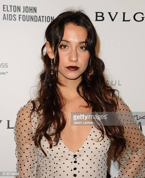 Actress Stella Maeve attends the 24th annual Elton John AIDS Foundation's Oscar viewing party on February 28 2016 in West Hollywood California
