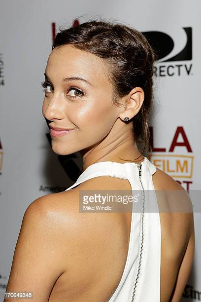 Actress Stella Maeve attends the LA Film Festival premiere of 'All Together Now' at Regal Cinemas LA Live on June 15 2013 in Los Angeles California