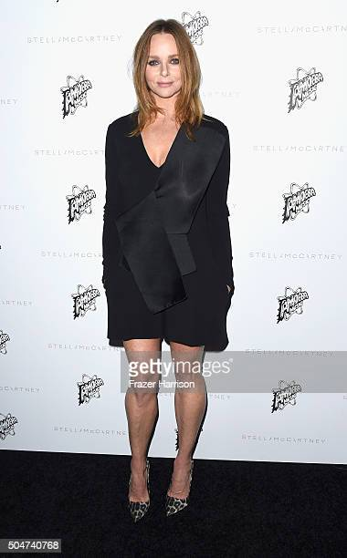 Actress Stella McCartney arrives at Stella McCartney Autumn 2016 Presentation at Amoeba Music on January 12 2016 in Los Angeles California