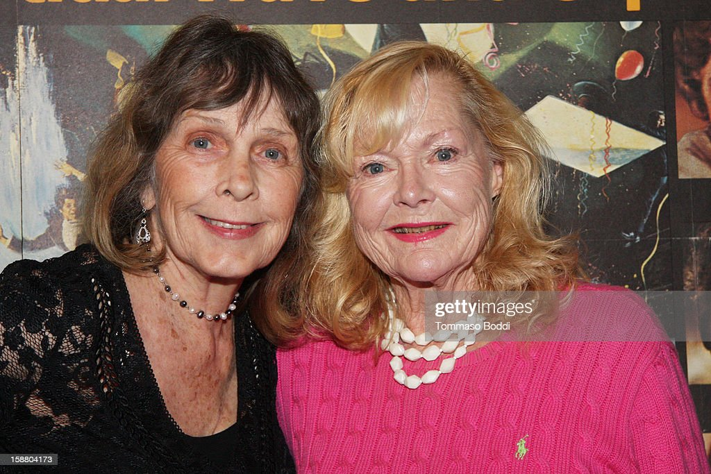 Actress Stella Stevens (L) and Carol Lynley attend the American Cinematheque's 40th Anniversary Screening of 'The Poseidon Adventure' held at American Cinematheque's Egyptian Theatre on December 29, 2012 in Hollywood, California.