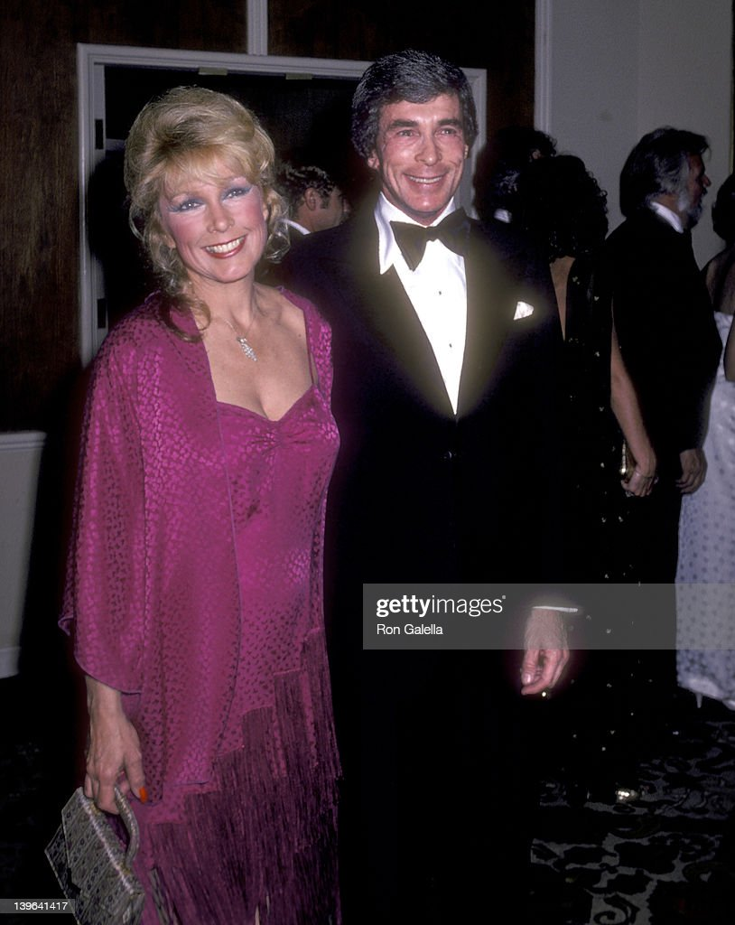 Actress Stella Stevens and guest Ron Platt attend 'A Gala Evening in Monaco' to Benefit the Dubnoff Center for Child Development on April 24 1981 at...