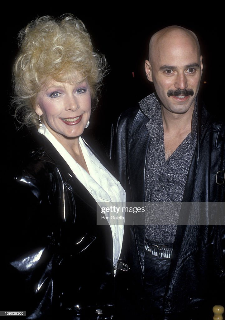 Actress Stella Stevens and musician Bob Kulick attend the Fourth Annual Rock 'N Bowl Tournament For The TJ Martel Foundation on April 5 1986 at...