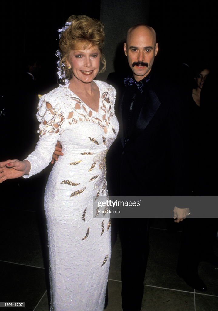 Actress Stella Stevens and musician Bob Kulick attend the Sixth Annual Soap Opera Digest Awards on January 14 1990 at Beverly Hilton Hotel in Beverly...