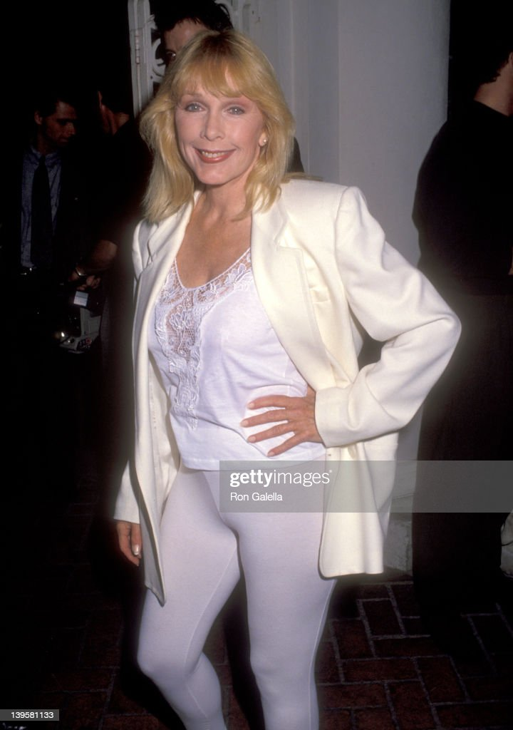 Actress Stella Stevens attend Jay Bernstein and Cabrina Finn Engagement Party on April 21 1992 at Tripp's Nightclub in Century City California