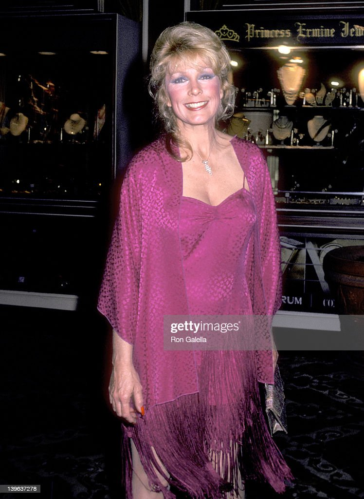 Actress Stella Stevens attends 'A Gala Evening in Monaco' to Benefit the Dubnoff Center for Child Development on April 24 1981 at Beverly Hilton...