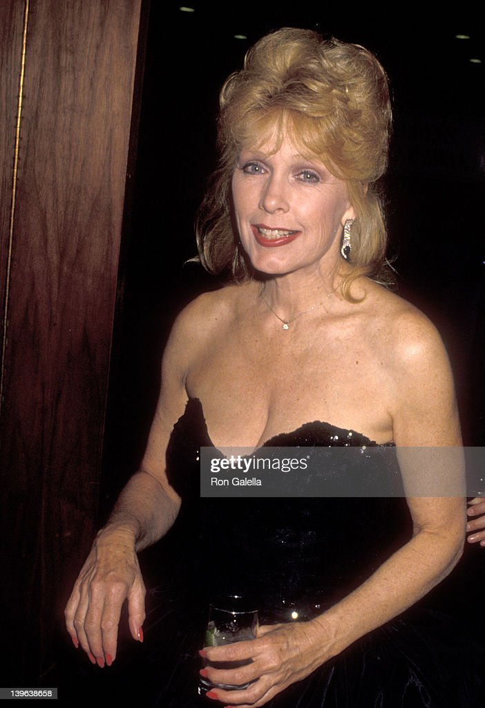 Actress Stella Stevens attends the 1990 Rudolph Valentino Awards on July 15 1990 at Century Plaza Hotel in Los Angeles California