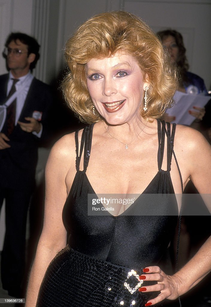 Actress Stella Stevens attends the 19th Annual Nosotros Golden Eagle Awards on June 9 1989 at Beverly Hilton Hotel in Beverly Hills California