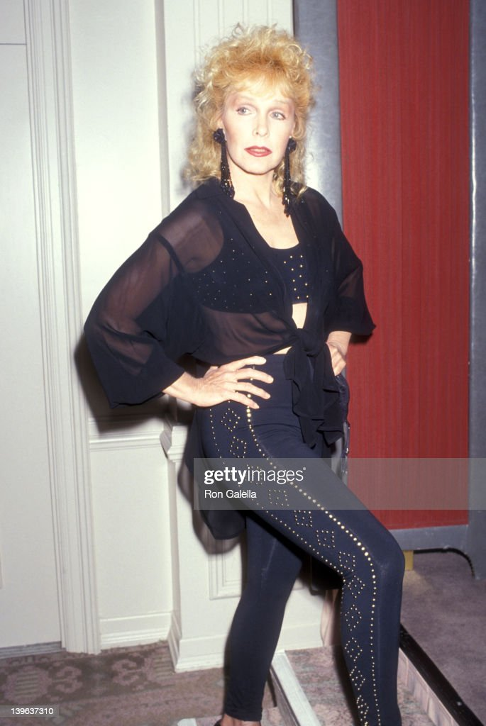 Actress Stella Stevens attends the 21st Annual Nosotros Golden Eagle Awards on June 14 1991 at Beverly Hilton Hotel in Beverly Hills California