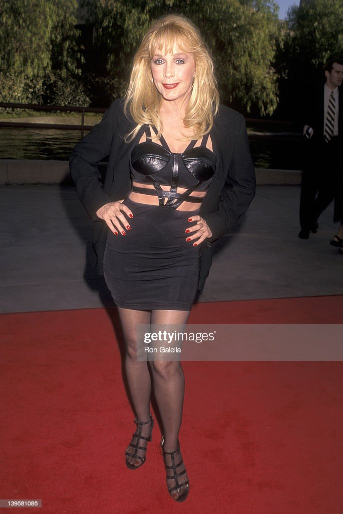 Actress Stella Stevens attends 'The Nutty Professor' Universal City Premiere on June 27 1996 at Universal Amphitheatre in Universal City California