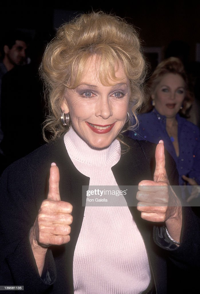 Actress Stella Stevens attends the 'Rocky' 20th Anniversary Special Screening on November 15 1996 at Samuel Goldwyn Theatre in Beverly Hills...