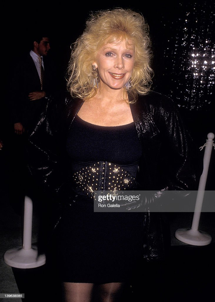 Actress Stella Stevens attends the Sports Club/LA's Superstar of Sports Award Honoring Earvin 'Magic' Johnson In Conjuction with the One Year...