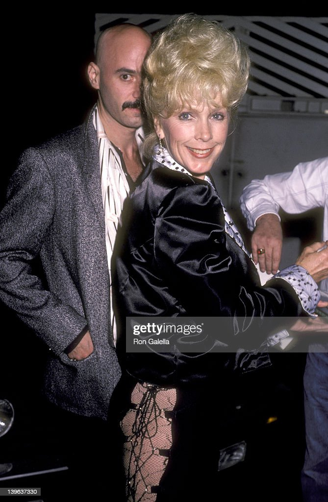 Actress Stella Stevens on October 2 1985 dines at Spago in West Hollywood California
