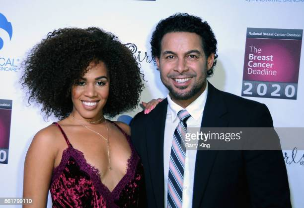 Actress Stephanie Ballena and actor Jon Huertas attend the 17th Annual 'Les Girls' at Avalon on October 15 2017 in Hollywood California